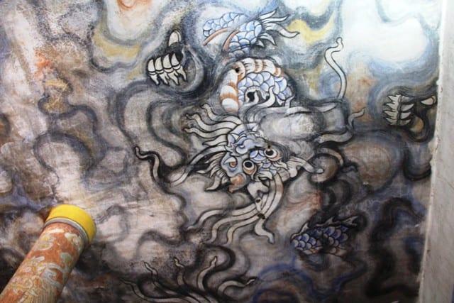 """Sẽ giữ lại bức tranh """"Long vân khế hội"""" ở chùa Diệu Đế 133"""