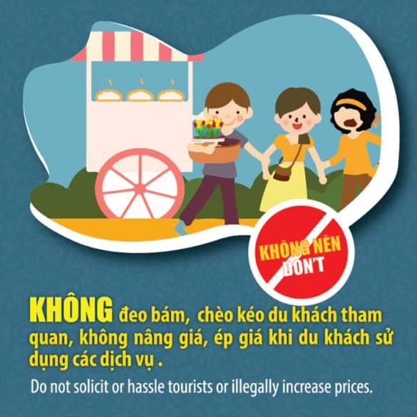 Bộ quy tắc Ứng xử văn minh du lịch Huế 163