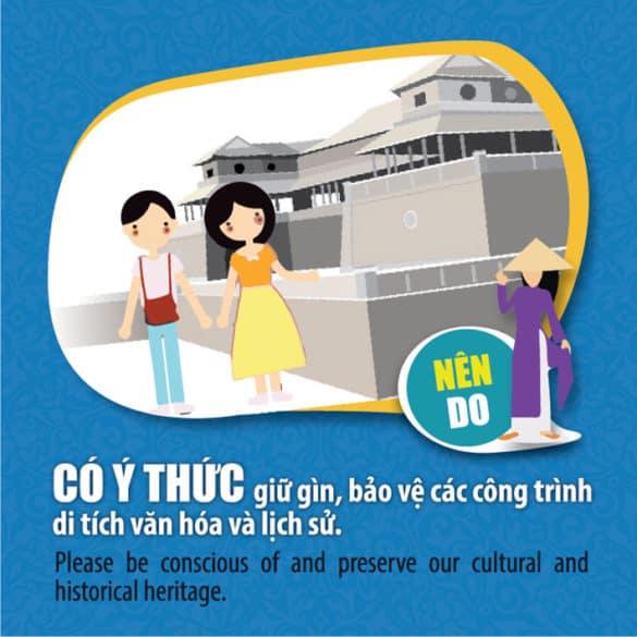 Bộ quy tắc Ứng xử văn minh du lịch Huế 149