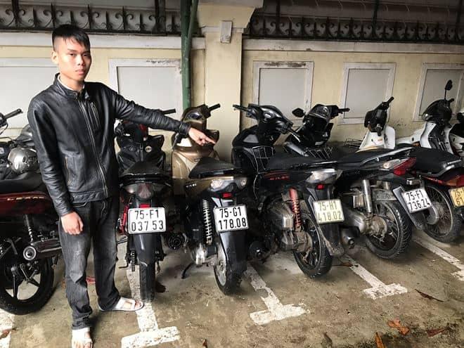 Huế: Bắt đối tượng thuê xe máy để...lừa đảo 142