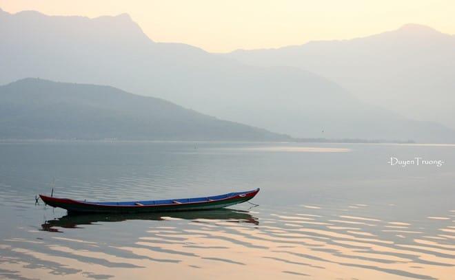 Vượt đèo Hải Vân, ngắm mặt trời lặn bên đầm Lập An 176