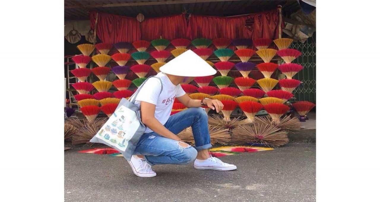 Thăm làng làm nhang xứ Huế