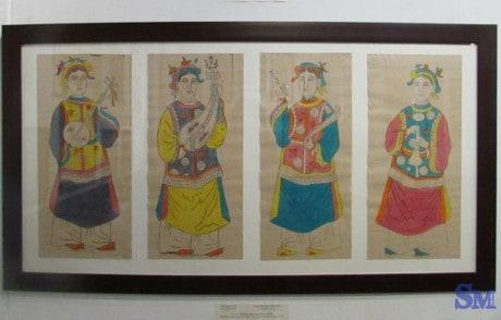 Tranh làng Sình: một nét văn hóa của cố đô Huế 142