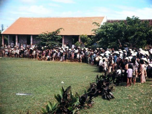 Một trường học ở Huế.