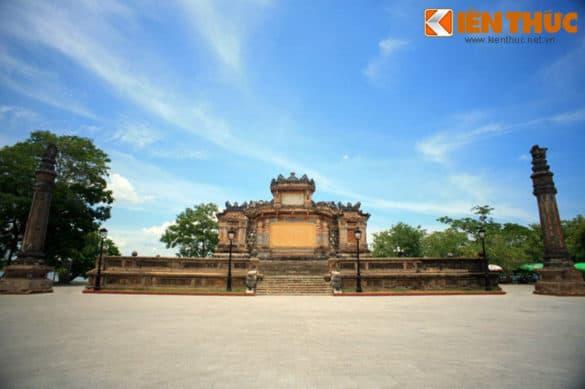Công trình lịch sử nổi tiếng xứ Huế thời điểm năm 2014.