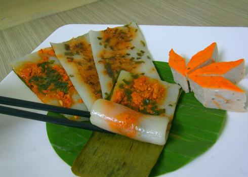 Mềm mịn bánh nậm xứ Huế