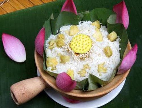 Thanh cao cơm sen xứ Huế 150