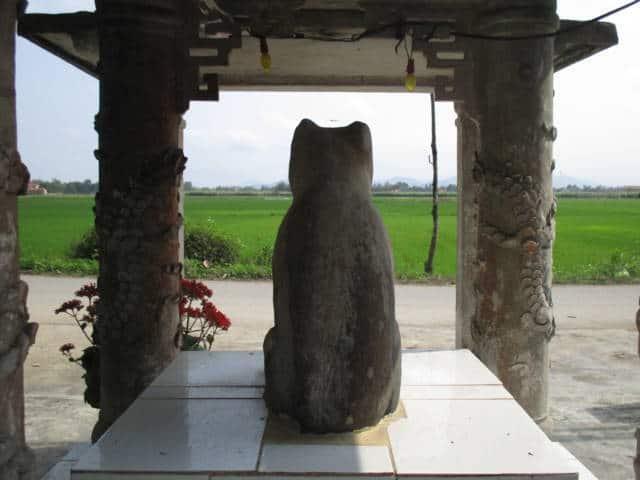 Kỳ bí quanh bức tượng 'thần cẩu' ở Huế 125
