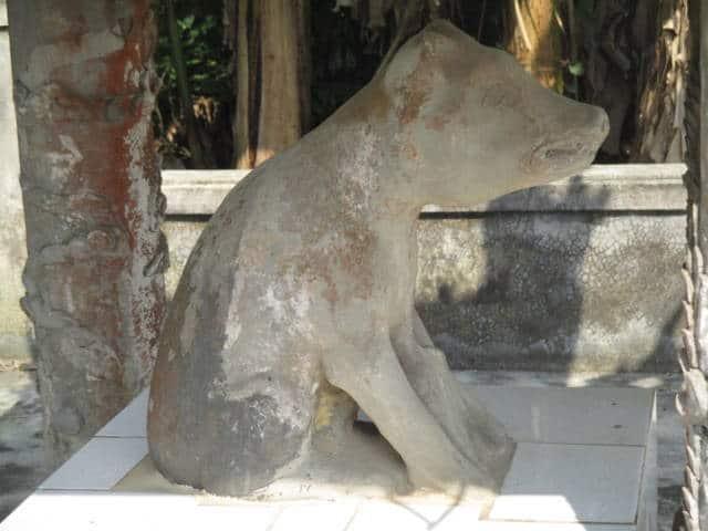 Kỳ bí quanh bức tượng 'thần cẩu' ở Huế 129