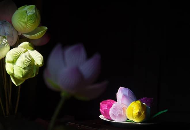 Nghệ nhân thổi hồn cho hoa giấy xứ Huế 149