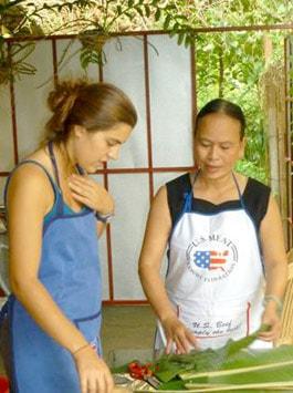 nghệ nhân ẩm thực dân gian Hoàng Thị Như Huy