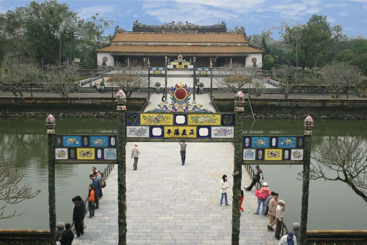 Sân Đại Triều Nghi (hoàng thành Huế) 118