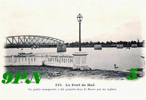 Trường Tiền: Thăng trầm của một cây cầu lịch sử 141