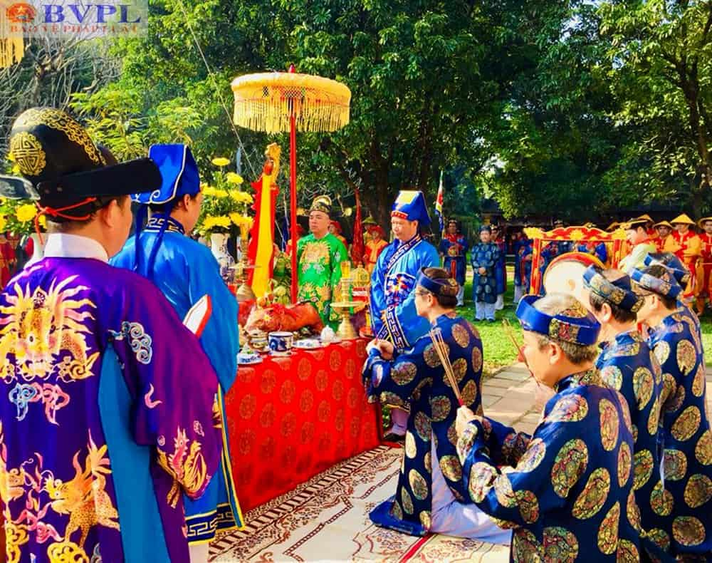 Tái hiện lễ Hạ nêu, khai ấn trong hoàng cung Huế 131