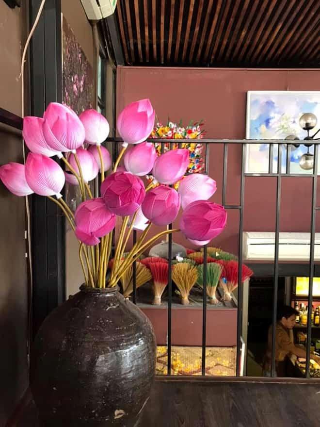 san pham thu cong hoa giay thanh tien