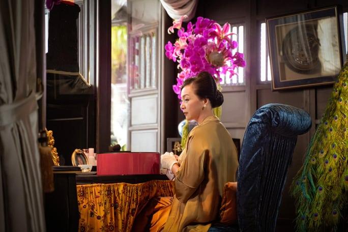 NSND Lê Khanh tái xuất, hoá thân con dâu nhà hào môn xứ Huế