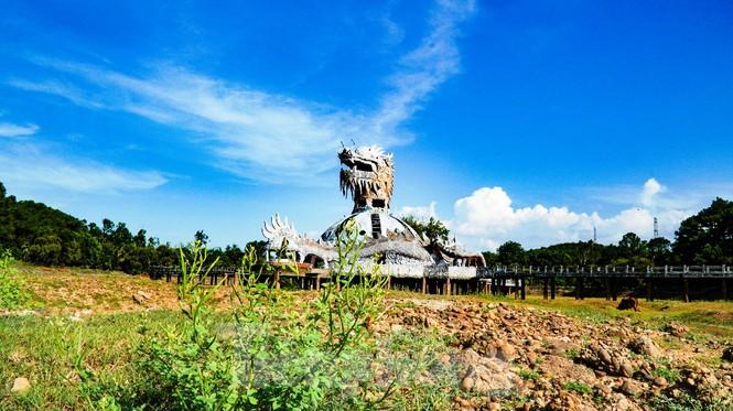 Công viên nước 'kinh dị' tại Huế từng lên báo Mỹ lại khô kiệt khác thường 228