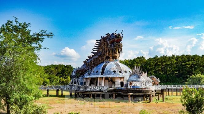 Công viên nước 'kinh dị' tại Huế từng lên báo Mỹ lại khô kiệt khác thường 232