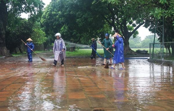 Di sản Huế đối diện với nguy cơ xuống cấp do mưa lũ