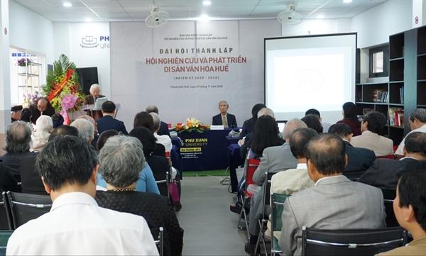 Thành lập Hội Nghiên cứu và phát triển di sản văn hóa Huế