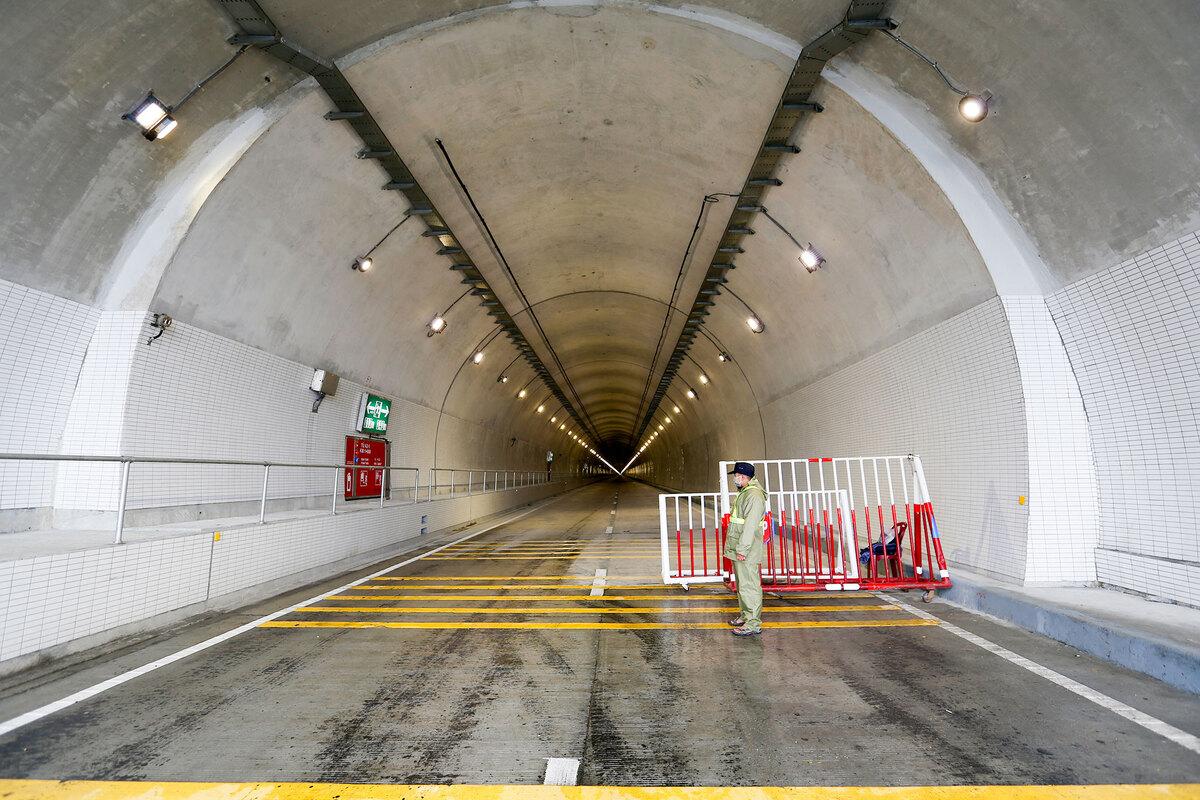 Hầm Hải Vân 2 trước ngày khánh thành 166