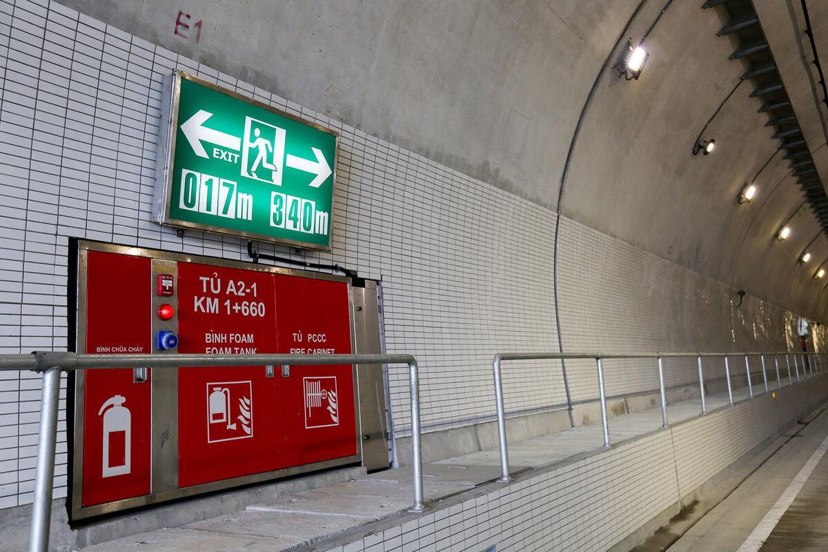 Hầm Hải Vân 2 trước ngày khánh thành 178