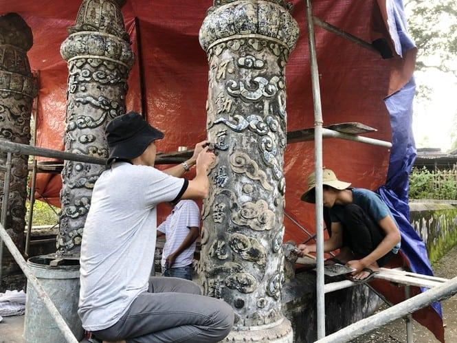 Sau trùng tu, ngôi cổ tự nổi tiếng bậc nhất xứ Huế bây giờ ra sao? 174