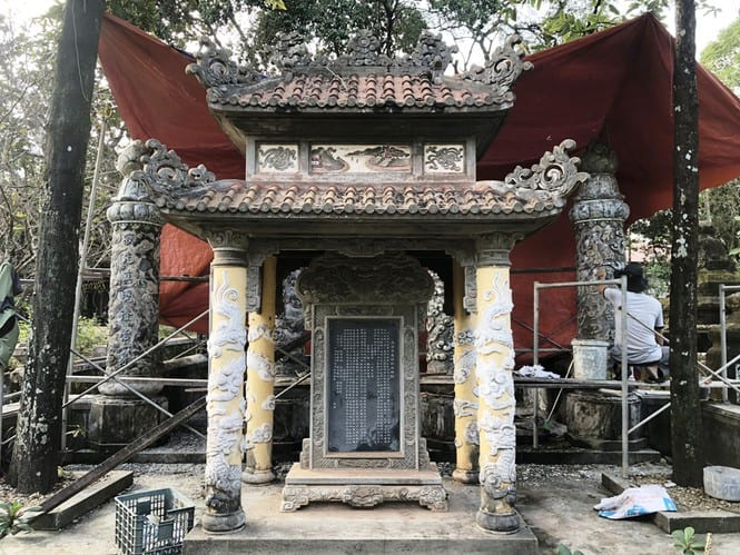 Sau trùng tu, ngôi cổ tự nổi tiếng bậc nhất xứ Huế bây giờ ra sao? 184