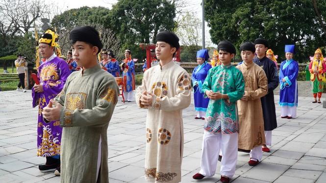 Tái hiện nghi lễ Cung đình đặc biệt dịp Tết xưa trong Đại nội Huế 182