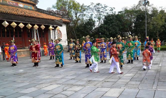 Tái hiện nghi lễ Cung đình đặc biệt dịp Tết xưa trong Đại nội Huế 180