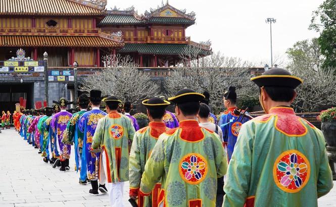 Tái hiện nghi lễ Cung đình đặc biệt dịp Tết xưa trong Đại nội Huế 188