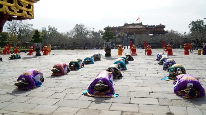 Tái hiện nghi lễ Cung đình đặc biệt dịp Tết xưa trong Đại nội Huế 170