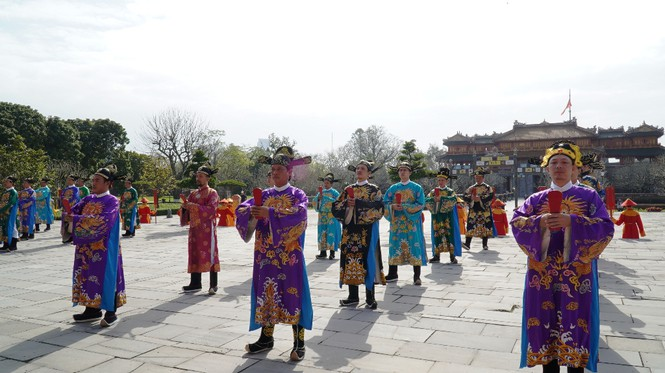 Tái hiện nghi lễ Cung đình đặc biệt dịp Tết xưa trong Đại nội Huế 168