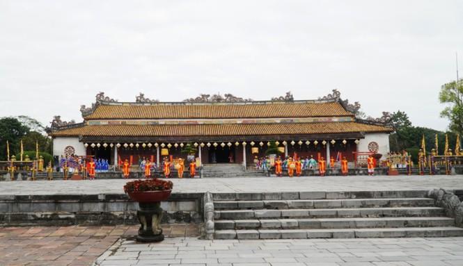Tái hiện nghi lễ Cung đình đặc biệt dịp Tết xưa trong Đại nội Huế 172