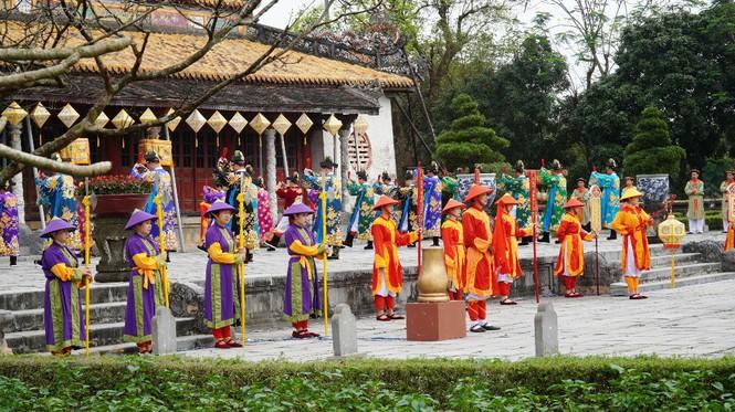 Tái hiện nghi lễ Cung đình đặc biệt dịp Tết xưa trong Đại nội Huế 184