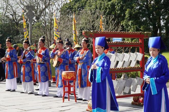 Tái hiện nghi lễ Cung đình đặc biệt dịp Tết xưa trong Đại nội Huế 176