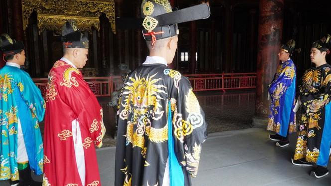 Tái hiện nghi lễ Cung đình đặc biệt dịp Tết xưa trong Đại nội Huế 178