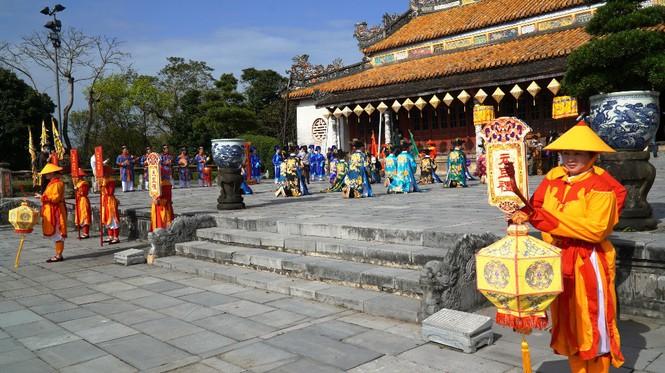 Tái hiện nghi lễ Cung đình đặc biệt dịp Tết xưa trong Đại nội Huế 186