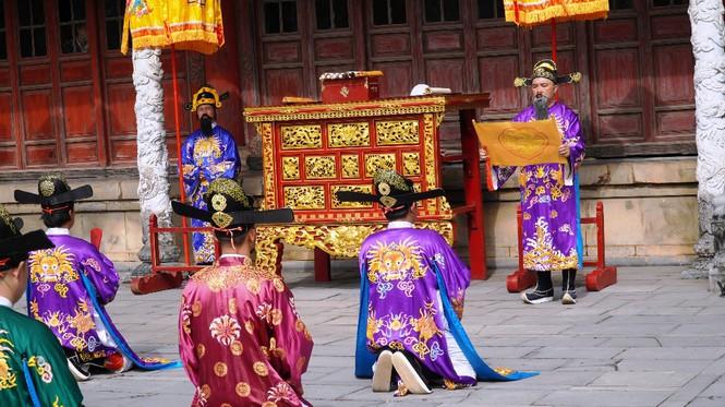 Tái hiện nghi lễ Cung đình đặc biệt dịp Tết xưa trong Đại nội Huế 174